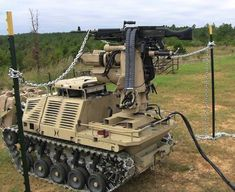HDT Global Auto-driving, machine-gun armed robot is ready for battle