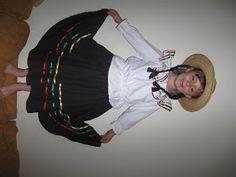 Handy Mom: Disfraz de campesina colombiana