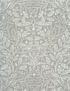 colors of life — nastyaraj: William Morris 'acorn' 1879 William Morris Wallpaper, Morris Wallpapers, Curtain Patterns, Textile Patterns, Textile Design, Print Patterns, Textiles, Art Nouveau, Art Deco