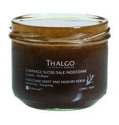 THALGO Indoceane: Zucker-Salz-Peeling  Entspannendes Peeling für eine sanft gereinigte Haut mit frischem Zitrusduft