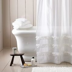 How far from the floor should you hang shower curtains - helpful advice.