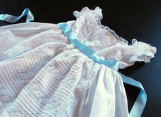 Vintage English Dress for Baby or Child EXQUISITE.