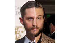 Tom Hardy and Logan Marshall-Green - The rough bearded guy look is very popular, but those two rough and bearded actors (From Mad Max: Fury Road and Prometheus) look like they were born with a beard, to the same mother, at the same time.