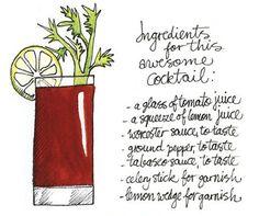 Koosje Koene Illustrations - Learn to draw: 5 tips to make illustrated recipes