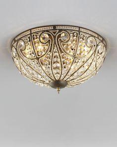 """""""Elizabethan"""" Ceiling Light - Horchow"""