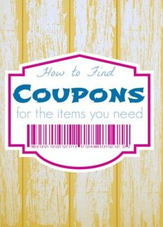 How to find the Coupons You Need for the Products you Want! Easy Couponing Tips for Saving Money! How to find the Coupons You Need for the Products you Want! Easy Couponing Tips for Saving Money! How To Start Couponing, Couponing For Beginners, Couponing 101, Extreme Couponing, Saving Money Chart, Money Saving Tips, Money Tips, Grocery Coupons, Shopping Coupons