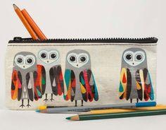 Owl Hoo's Next Pencil Case