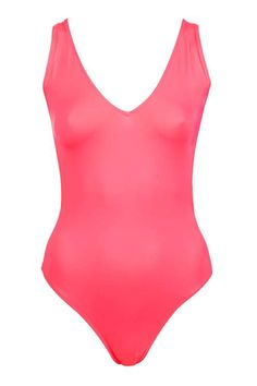 Plunge Front Swimsuit