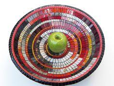 Mosaic Art Mosaic Bowl Dish Platter Table by NewArtsonline on Etsy