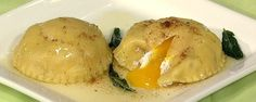 Fresh Ricotta and Egg Ravioli with Brown Butter Recipe   The Chew - ABC.com
