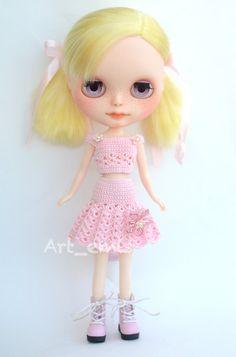 Begonia Custom Blythe doll OOAK by ByArtemis on Etsy