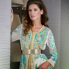 Caftan et djellaba de Maroc: caftan marocain de luxe 2015