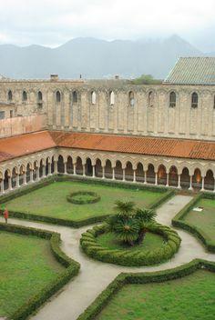 Monreale Duomo Cloisters Sicily
