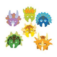 Dinosaur Masks - OrientalTrading.com