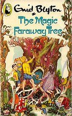 The Magic Faraway Tree... I have read 100 Enid Blyton books but this was always my favorite. And I've read to all three of my kids (even though the language is a little dated/British!) - comment from Kim Haskett