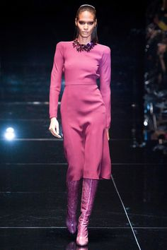 My favorite Fall collection so far!  That pink is everything!!  Gucci Fall 2013 RTW Collection
