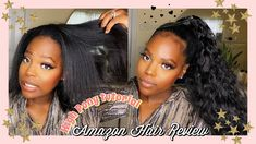 Hair Review & Tutorial | Stamped Glorious Wavy Synthetic Wrap Around Pon... Amazon Purchases, Wrap Around, Ponytail, Hair, Horse Tail, Cola De Caballo, Pony Tails, Pigtail Hairstyle, Strengthen Hair