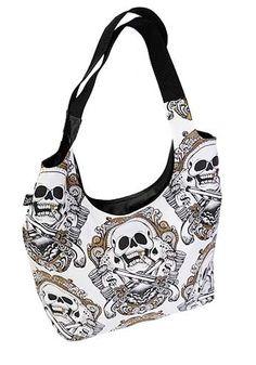 Skull guns shoulder bag, I'll take one please!!