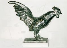 ROOSTER.CAST STAINLESS STEEL.CLAUDIO BARAKE SCULPTOR.