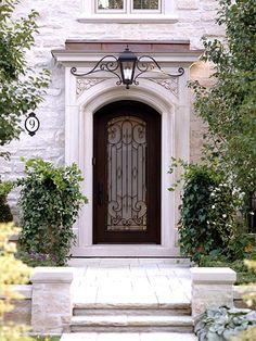 love the look of the door & light