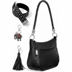 Studs in a pretty pattern give this strap star power. Add it to you...