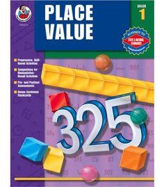 Place Value Resource Book - Carson Dellosa Publishing Education Supplies #CDWishList