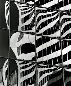 """Building Reflections"" by Brett Weston"