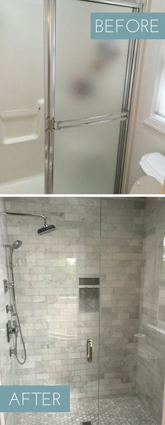 Check Out This Shower Makeover Using Discounted Travertine Stone - Bathroom shower stall makeovers