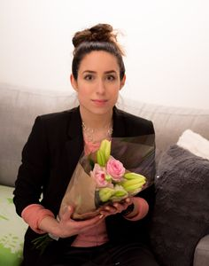 Happy woman´s day to all the beautiful ladies over there! I picked up my boyfriend from his work and he bought me some flowers :-) It´s always nice to get flower, I mean you can never get too much, am