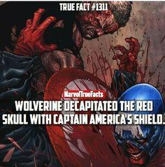 Old Man Logan kills The Red Skull