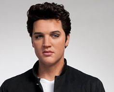 Elvis Presley wax figure at Madame Tussauds in Tokyo.