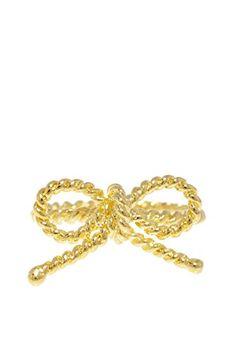 Beyond Rings Love Knot Ring