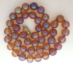 WMF Myra Kristal Bead Necklace