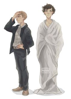 Sherlock Holmes, John Watson - Sherlock BBC