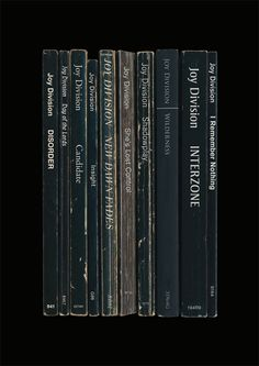 Joy Division Unknown Pleasures Album As Books by StandardDesigns, £12.50