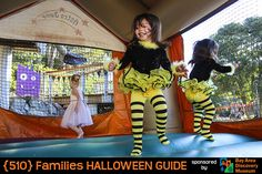 Guide to Halloween Activities for kids in Oakland, Berkeley, and more