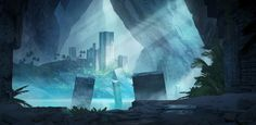 Welcome To The Abyss , Juhani Jokinen on ArtStation at http://www.artstation.com/artwork/welcome-to-the-abyss
