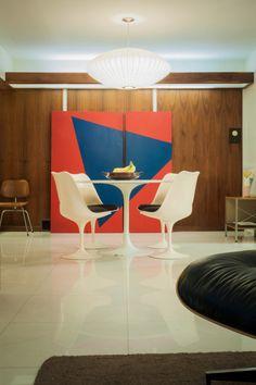 Midcentury Modern by Architect Charles Erwin King PLASTOLUX