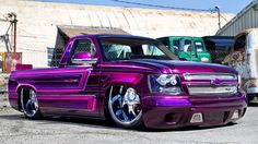 Car Features - Page 10 of 16 - Rides Magazine Chevy Trucks Lowered, Bagged Trucks, Gmc Trucks, Cool Trucks, Cool Cars, Truck Drivers, Custom Paint Jobs, Custom Cars, Pick Up