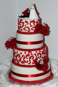 40th Anniversary Cake by Cupcaketherapy, via Flickr