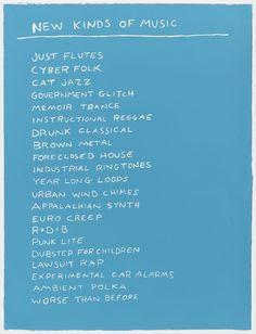 New Kinds of Music - Scott Reeder
