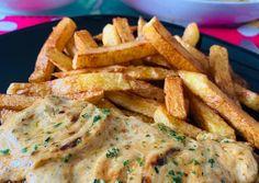 Sült sertéstarja/karaj kapros-tejfölös szósszal | Andrea von Sattler receptje - Cookpad receptek Chicken, Food, Essen, Meals, Yemek, Eten, Cubs