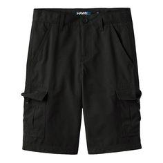 Boys 8-20 Tony Hawk® Ripstop Cargo Shorts, Boy's, Size: 18, Black