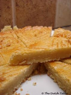 The Dutch Table: Boterkoek ~ nothing else like it, so good..