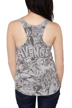 Back view of wanted tank top.   http://members.hottopic.com/hottopic/WhatsNew/GraphicTShirts//Marvel+Universe+The+Avengers+Girls+Tank+Top-168886.jsp