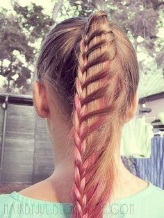 HAIR BY JUL- blog o włosach. Fryzury, tutoriale, inspiracje: Sposób na efektownego kucyka