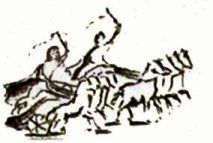 Chariot racing was a huge sport in classical Greece and Rome.  Each rider would have a chariot and four horses.  They would do a certain number of laps, racing eachother.  Chariot racing was often dangerous to both the riders and horses. There were lots of injuries and death.