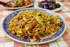 BBQ pork fried rice | Taiwanese cuisine