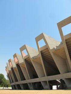 Ahmedabad - Cricket Stadium - Charles Correa