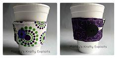 Mandy's Krafty Exploits: Reversible Coffee Cozy